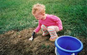 ChildPlaysInDirt Sm   Does Garden Soil Makes Us Happy + Smart?
